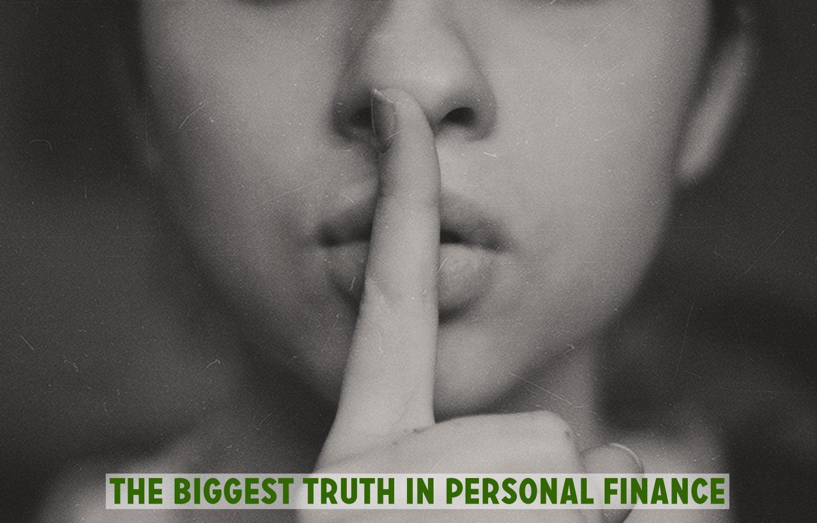 La mayor verdad en finanzas personales