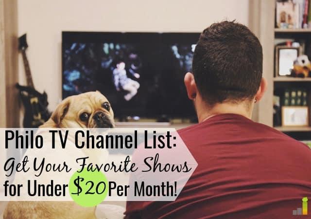 Nuestra lista de canales de Philo TV cubre cómo puede obtener sus programas favoritos por menos de $ 20 por mes. Vea por qué Philo TV es la alternativa más barata al cable.