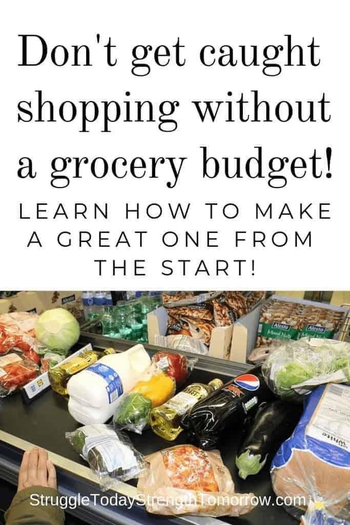 cómo hacer un presupuesto de supermercado saludable y feliz para usted y su familia sin sacrificar mucho. tres pasos simples para hacer un presupuesto de supermercado que funcione para usted y su situación. ¡no te atrapen comprando sin uno o podrías estar desperdiciando dinero!