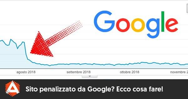 ¿Sitio penalizado por Google? Esto es lo que debes hacer