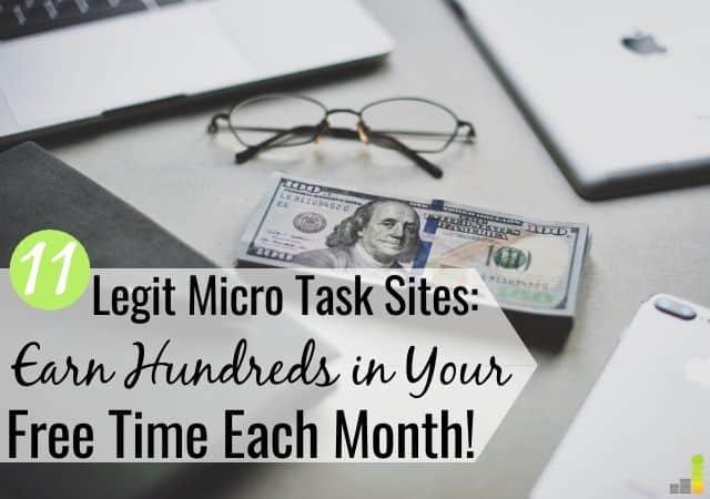 Los mejores sitios de micro tareas le permiten ganar dinero en su tiempo libre. Estas son las 11 mejores formas de recibir pagos por realizar tareas en línea con poco esfuerzo y habilidad.
