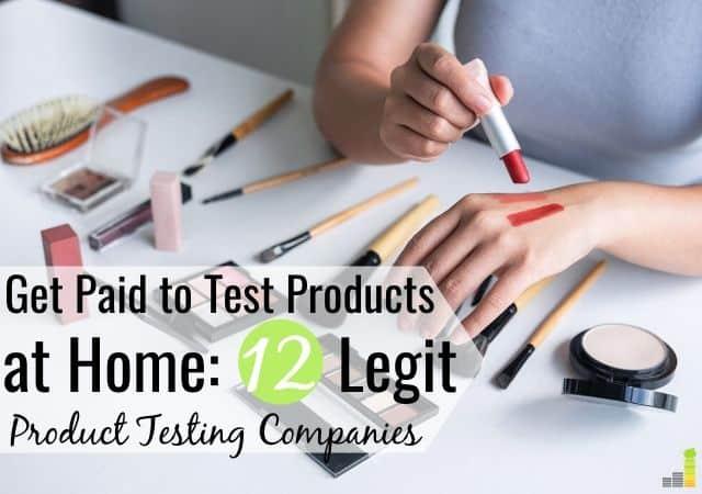 12 formas legítimas de recibir pagos para probar productos en casa de forma gratuita