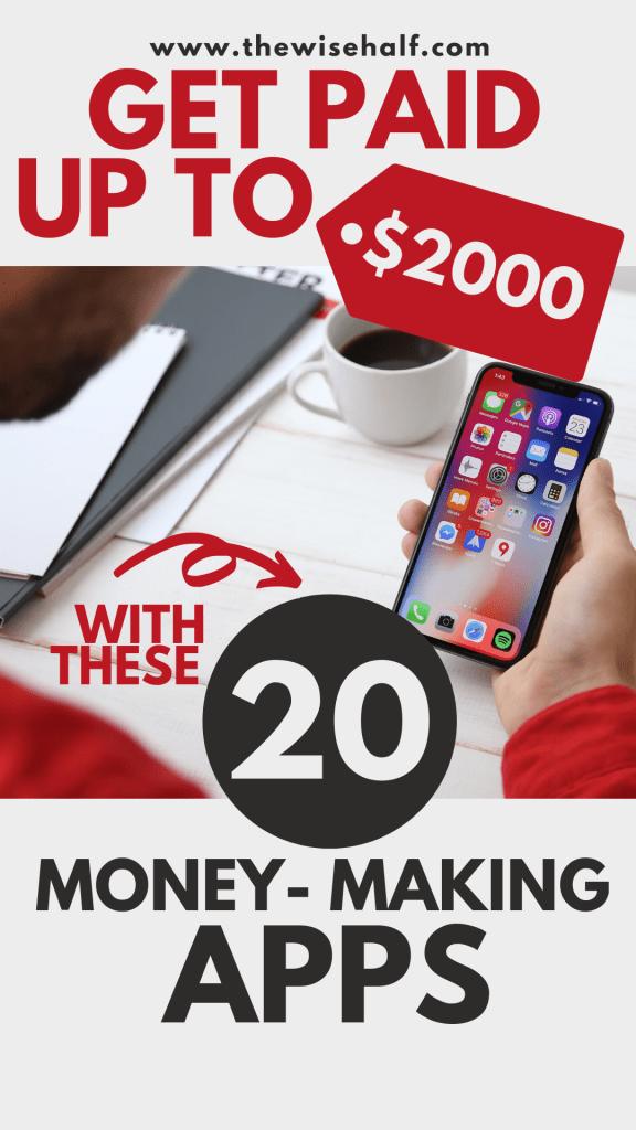 aplicaciones que hacen dinero rápido