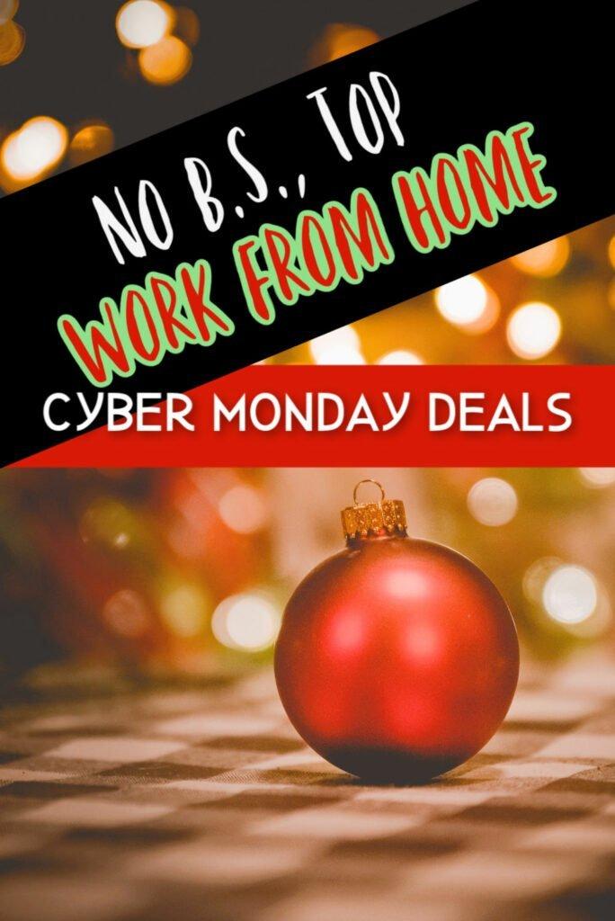 No B.S., mejores ofertas de trabajo desde casa Cyber Monday