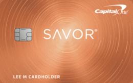 Tarjeta Capital One Savor