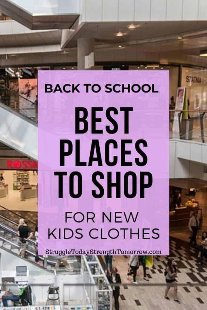 Puede ahorrar mucho dinero en ropa de regreso a la escuela para sus hijos comprando en los lugares correctos en el momento adecuado. ¡Haga clic ahora para ver dónde y cuándo están! #savingmoney #backtoeschool #school #kidsclothes #frugaliving