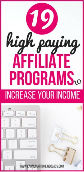mejores programas de afiliación para bloggers