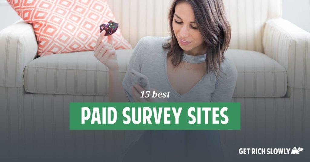 15 sitios de encuestas mejor pagados en 2020