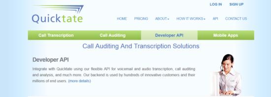 Trabajos de transcripción en línea de Quicktate para principiantes