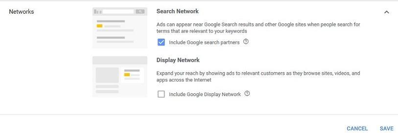 Redes de anuncios de Google