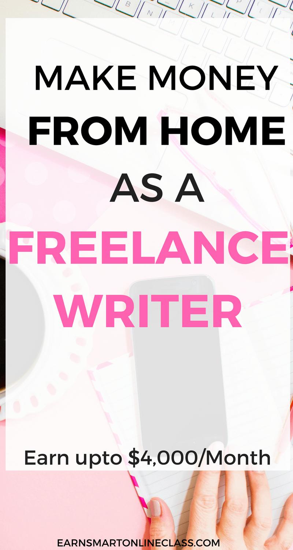 ¿Quieres saber cómo ganar dinero desde casa como escritor independiente? La escritura independiente puede ser difícil de lograr al principio, pero es un trabajo lucrativo en línea que puede generarle miles de dólares cada año. Obtenga esta publicación y descubra cómo puede ganar dinero en línea como escritor profesional.