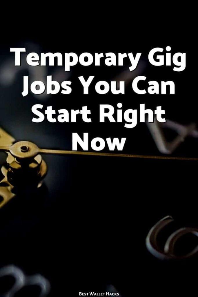 Trabajos temporales de trabajo que puede comenzar ahora (con un mínimo contacto humano)