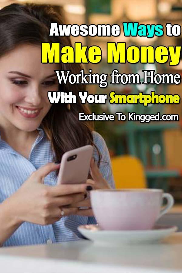 ganar dinero con el teléfono inteligente