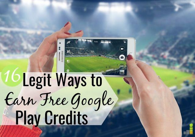 Puedes ganar créditos gratuitos de Google Play para ahorrar dinero en aplicaciones. Aquí hay 16 formas legítimas de obtener tarjetas de regalo gratuitas de Google Play para comprar aplicaciones y otros entretenimientos.