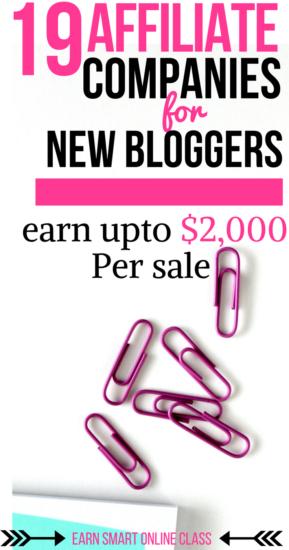 19 mejores programas de afiliación para bloggers. Comience a obtener ingresos de su blog utilizando estos sitios web de marketing de afiliación. Los mejores programas de afiliados!
