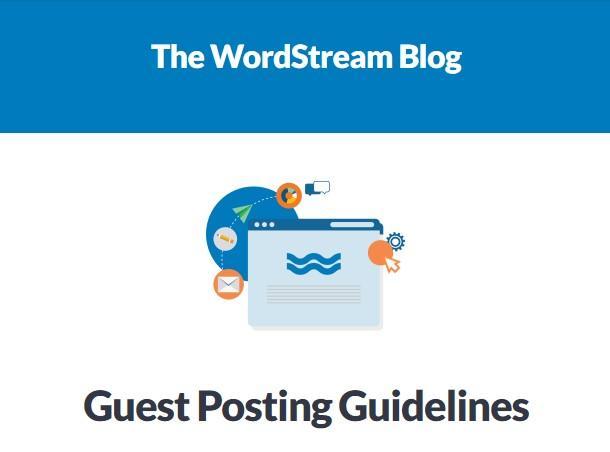 Publicación de invitado de WordStream