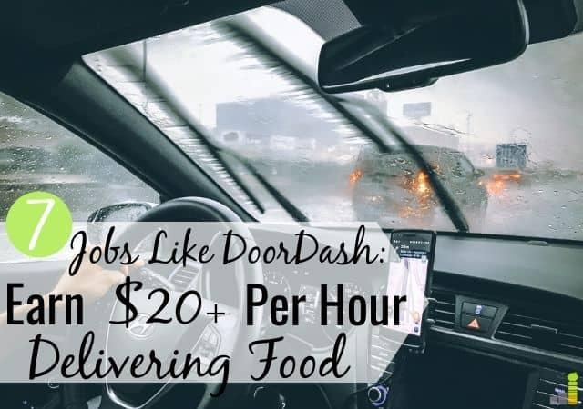 7 trabajos como DoorDash para ganar dinero entregando comidas