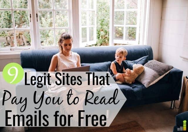 Puede recibir pagos por leer correos electrónicos gratis en su tiempo libre. Revisamos 9 sitios legítimos que le permiten recibir pagos por recibir correos electrónicos en su teléfono o computadora portátil.