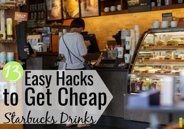 Ahorre dinero en Starbucks: 13 maneras de obtener bebidas Starbucks baratas