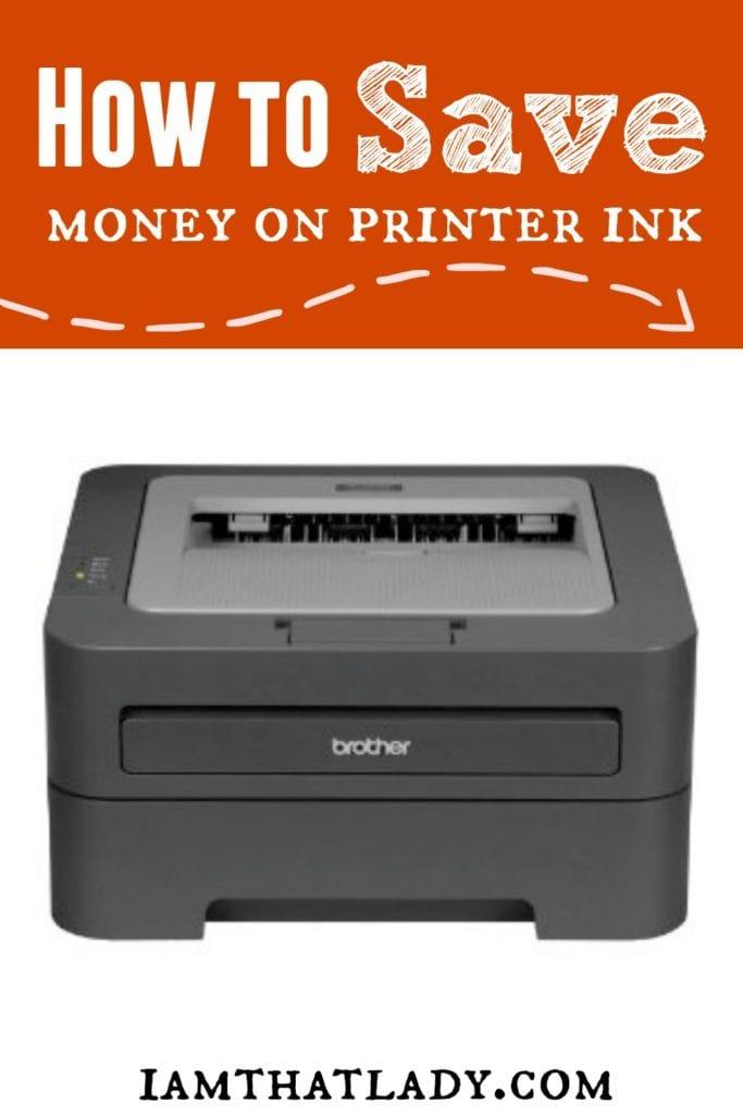 Cómo ahorrar dinero en tinta de impresora