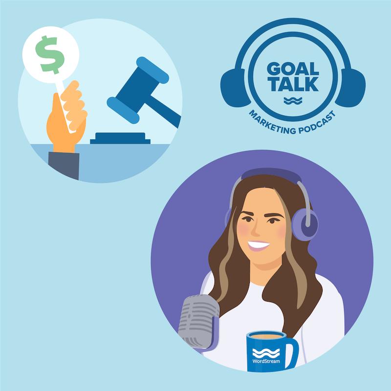 Goal Talk podcast temporada 1 episodio 7 obra de arte.
