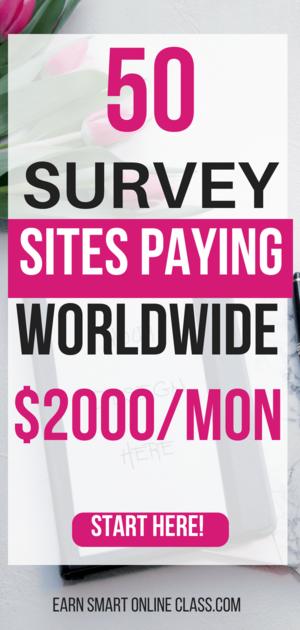 mejores sitios de encuestas pagas internacionales que pagan en todo el mundo