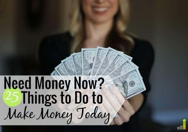 Necesito dinero ahora: 25 formas legítimas de obtener dinero hoy