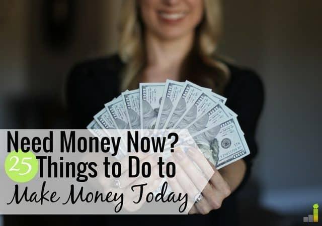 Necesito dinero ahora es un sentimiento común de muchos para llegar a fin de mes. Aquí hay 25 formas de obtener dinero hoy para pagar una factura o poner dinero extra en su billetera.