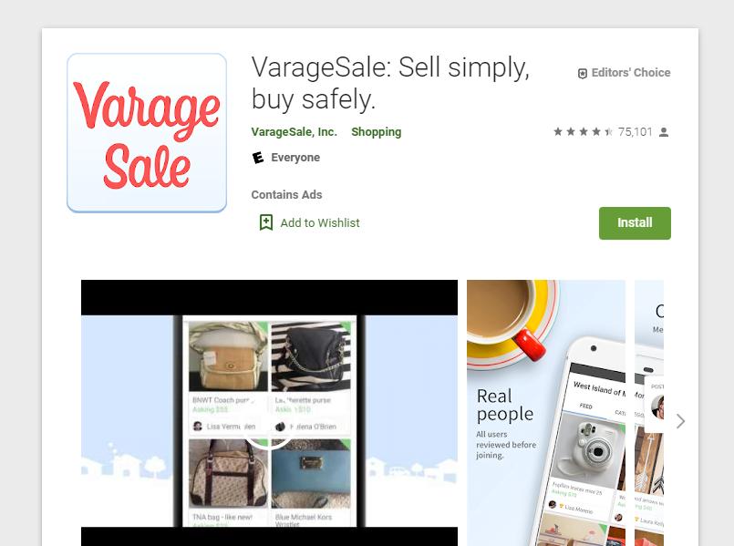 Revisión de VarageSale: ¿Una buena opción de venta de garaje en línea?