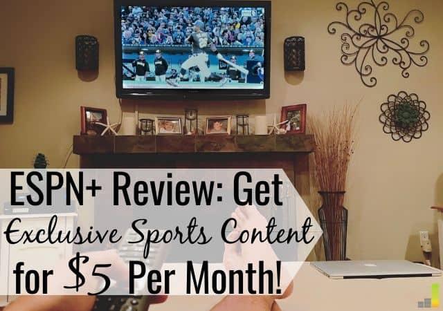 Revisión de ESPN Plus: ¿Vale $ 5 por mes?