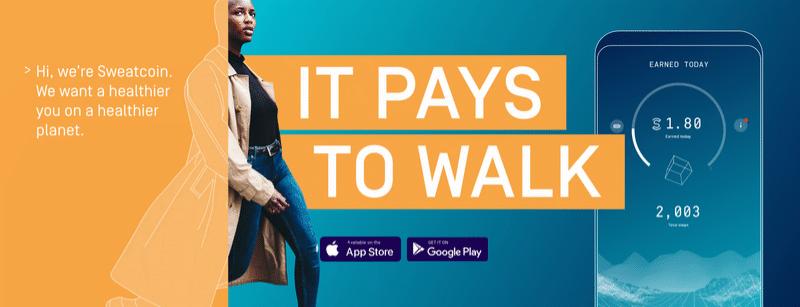 Sweatcoin: vale la pena caminar