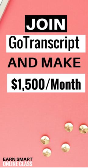 GoTranscript tiene increíbles trabajos de transcripción en línea para principiantes. Estos son trabajos de transcripción de audio que puede hacer desde casa. ¡Los mejores trabajos de transcripción!