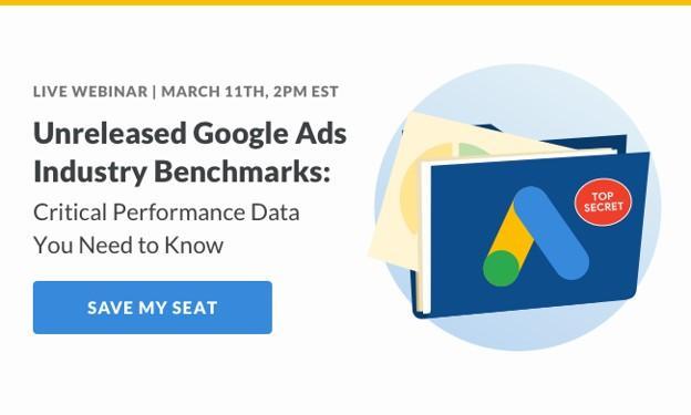 Seminario web de referencia de la industria de anuncios de Google
