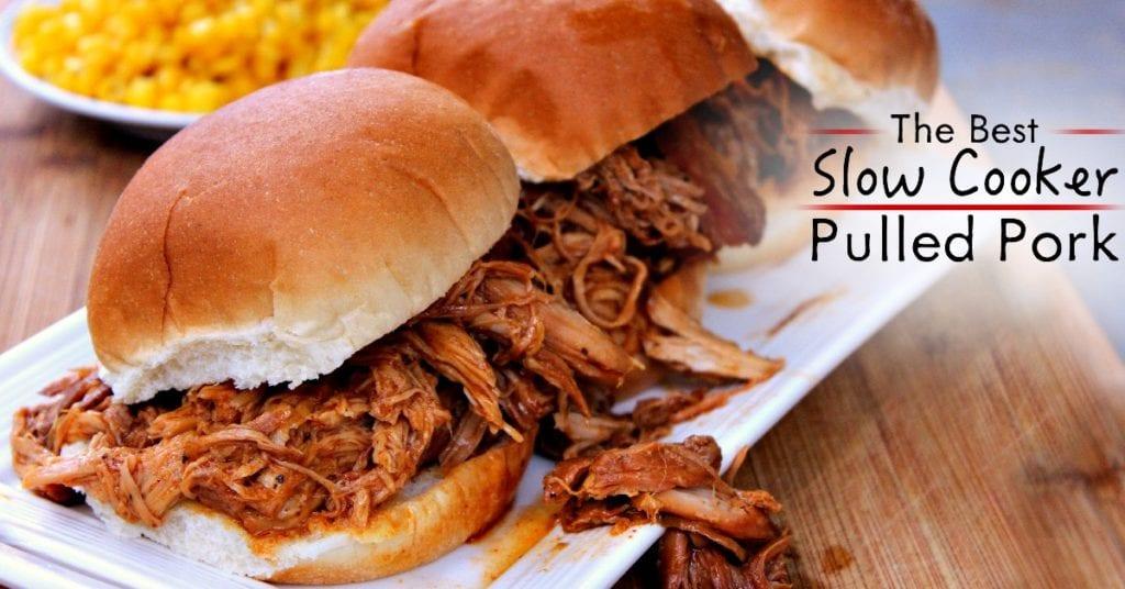 ¡Crockpot Pulled Pork puede ser tan bueno como la versión ahumada!