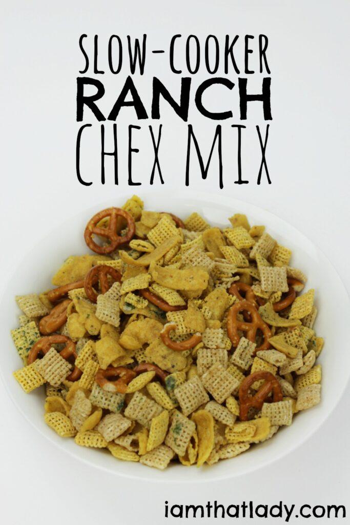 Receta de Chex Mix