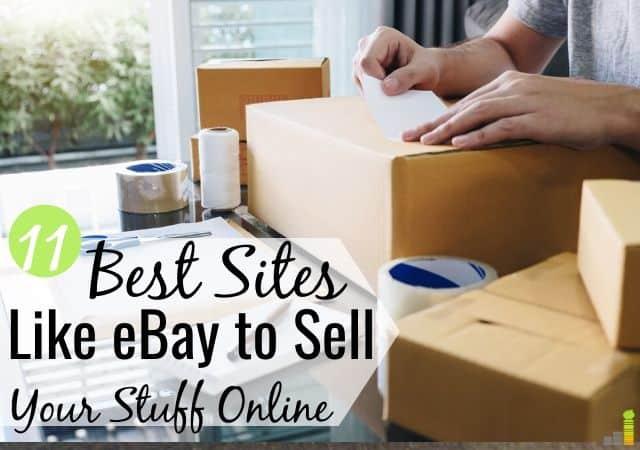 Los sitios de subastas como eBay te permiten vender cosas por dinero. Aquí están las 11 mejores alternativas a eBay para vender artículos en línea y localmente para despejar su casa.