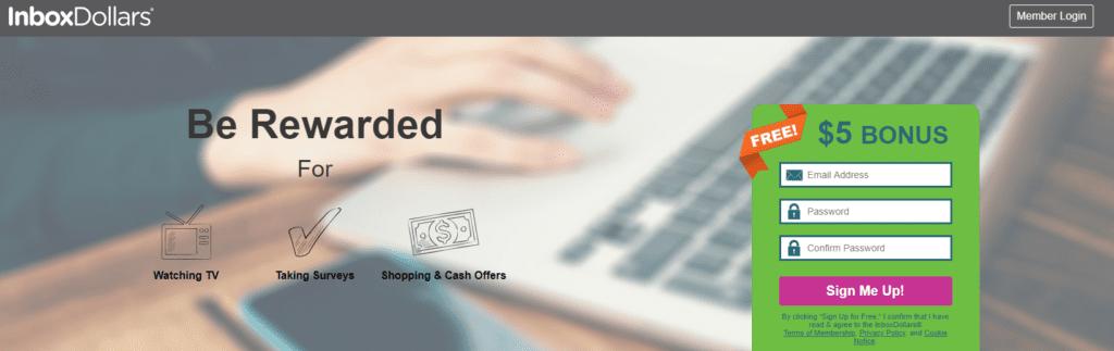 InboxDollars Review: ¿Empezar a ganar dinero ahora?