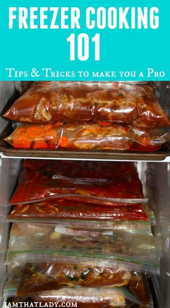 Freezer Cooking 101 - ¡Aprende a cocinar en el congelador como un profesional!