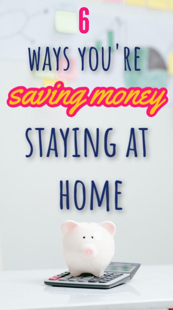 Si bien quedarse en casa no es lo ideal, viene con un lado positivo inesperado. Aquí hay siete maneras de ahorrar dinero al quedarse en casa.