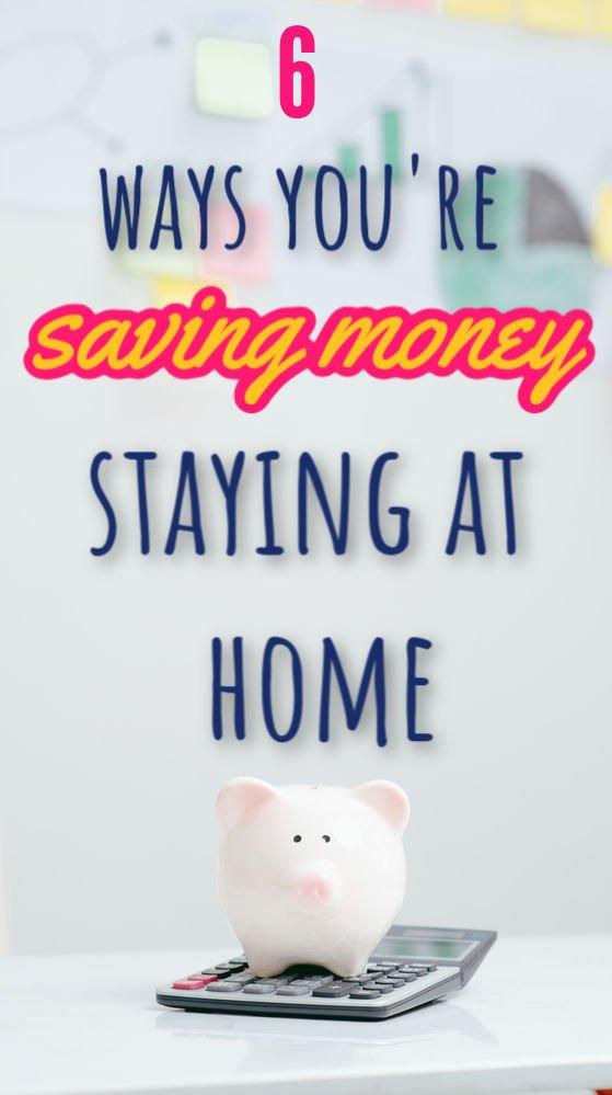 6 maneras de ahorrar dinero mientras te quedas en casa