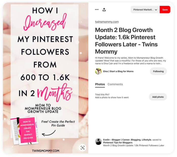 SEO de Pinterest: prácticas recomendadas para los pines con clic