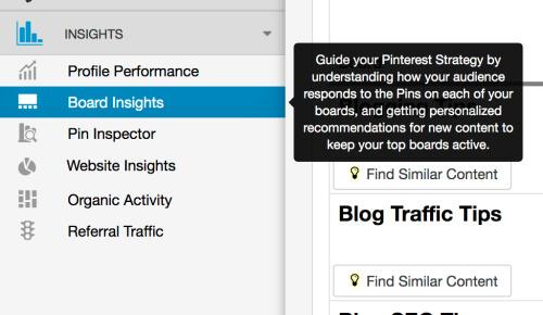 SEO de Pinterest: realiza un seguimiento del rendimiento del tablero en Tailwind Board Insights