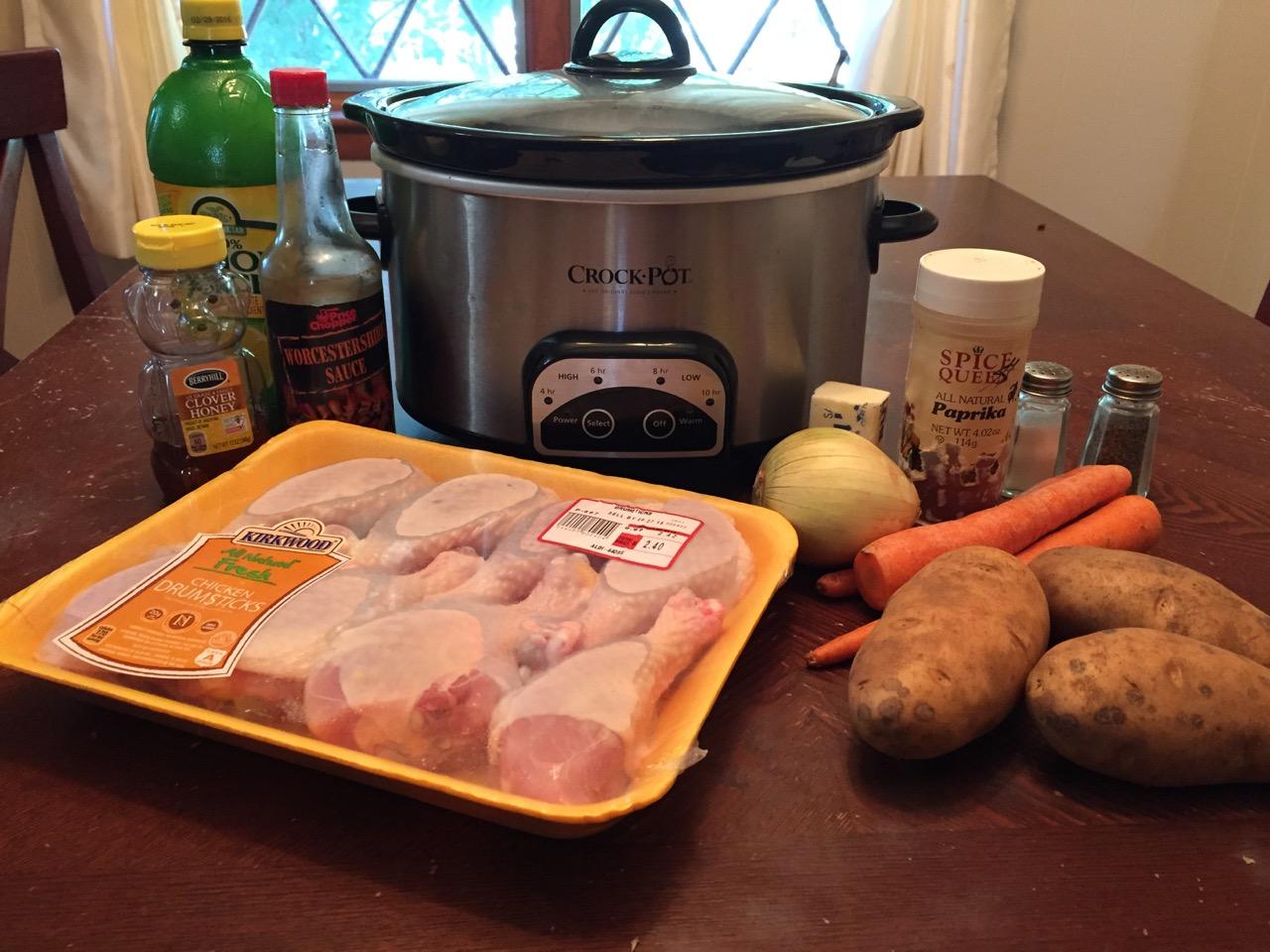 ingredientes de pollo pimentón