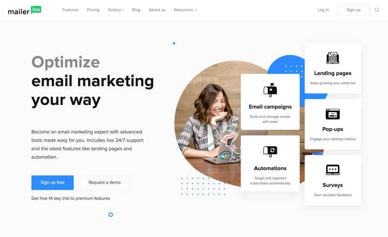 Mailerlite: herramienta gratuita de marketing por correo electrónico para bloggers
