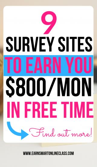 Tomar encuestas en línea pagas es una excelente manera de ganar dinero desde casa. ¡Mira esta lista de los 15 mejores sitios de encuestas que pueden ganarte $ 800 al mes o más!