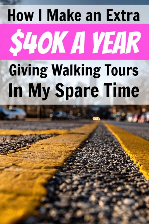 ganar dinero como guía turístico