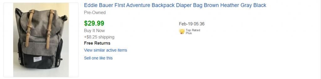 mochila para bebé
