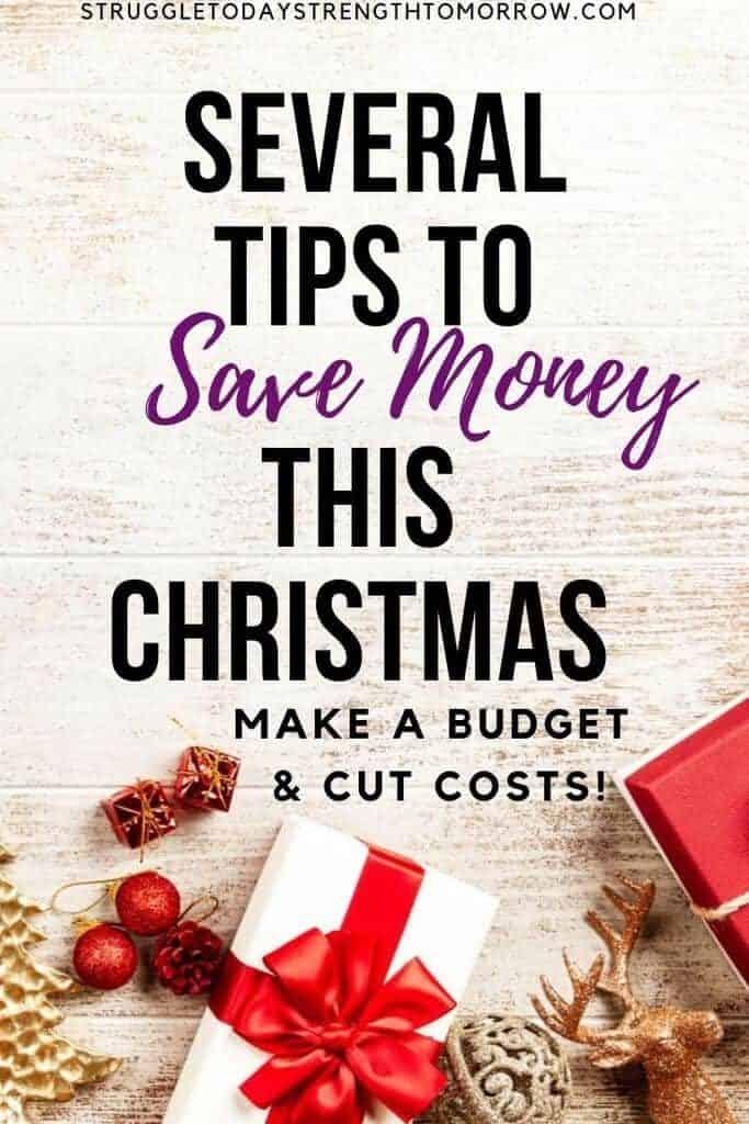 Varios consejos para ahorrar dinero esta Navidad. Haga un presupuesto y reduzca costos con estos increíbles trucos. #christmas #kids #christmastraditions #traditions #frugalfun #budget #savingmoney