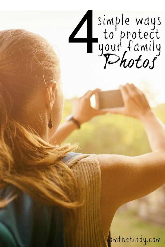 4 formas simples de proteger tus fotos familiares
