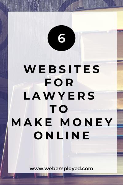 abogados hacen dinero en línea